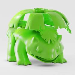 Venusaur impresion 3D