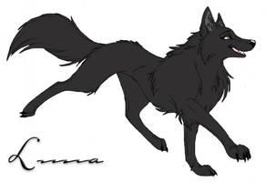 Luna_wolf by W0lFBane666