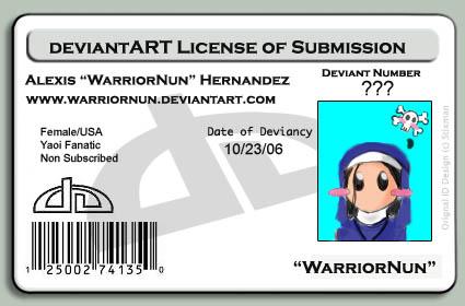WarriorNun's Profile Picture