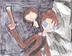 Linkara and Magic Gun Girl vs The Entity