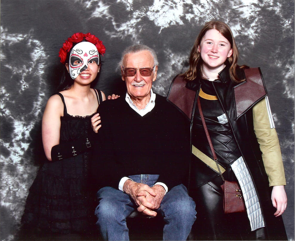 Stan Lee, Marvel All-Father and God of Comics by WarriorNun