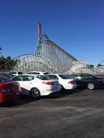 At Six Flags Magic Mountain by WarriorNun