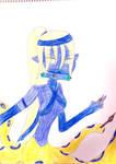 MerMay Ninja Blue Ringed Cecaelia