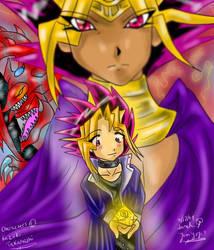 -+Yu-Gi-Oh Poster+- by yamiyugi