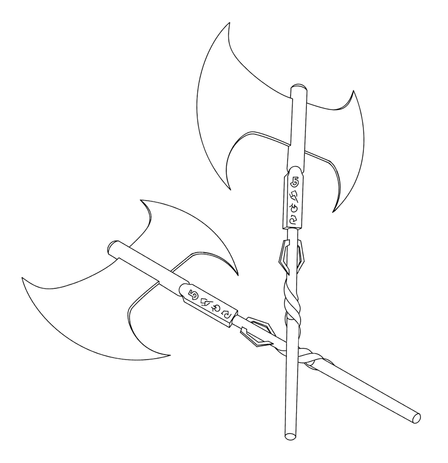 Great-axe-2 by PsyborgFactory
