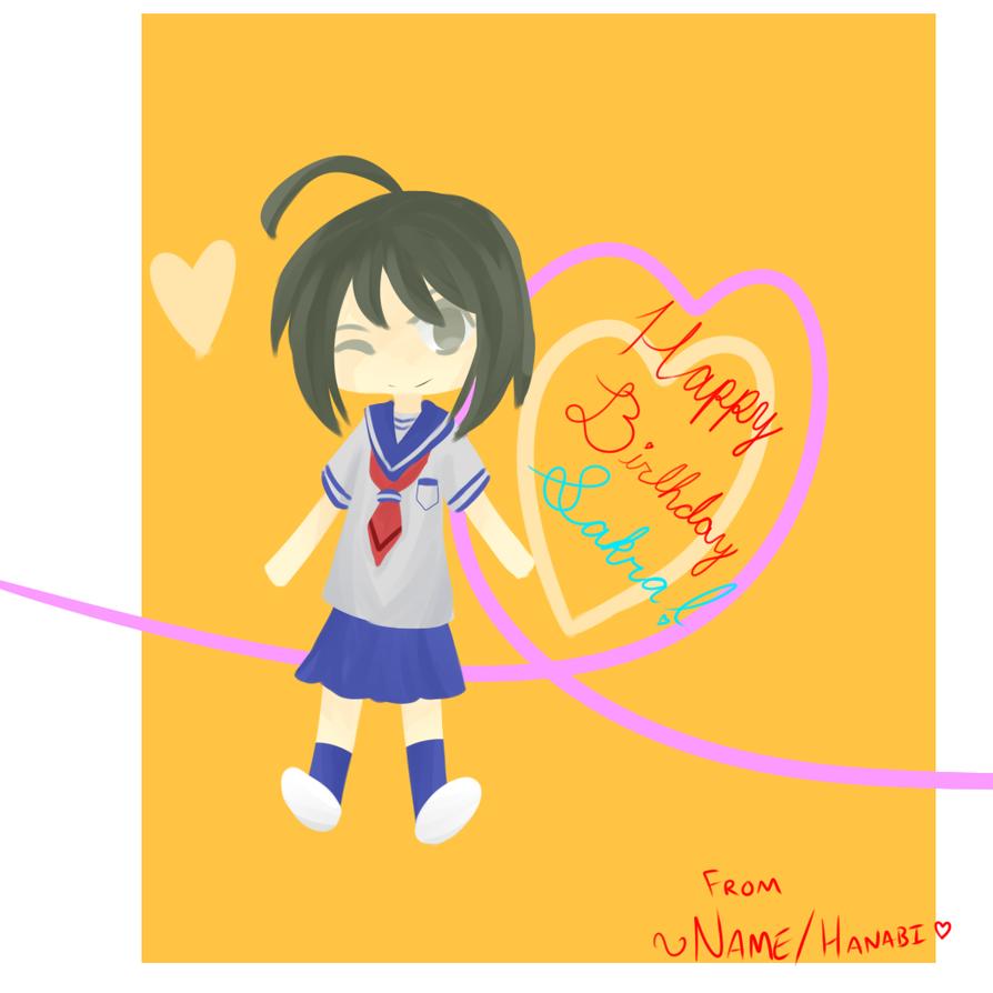Happy Birthday Sakra!!!!! by Supah-Shugo