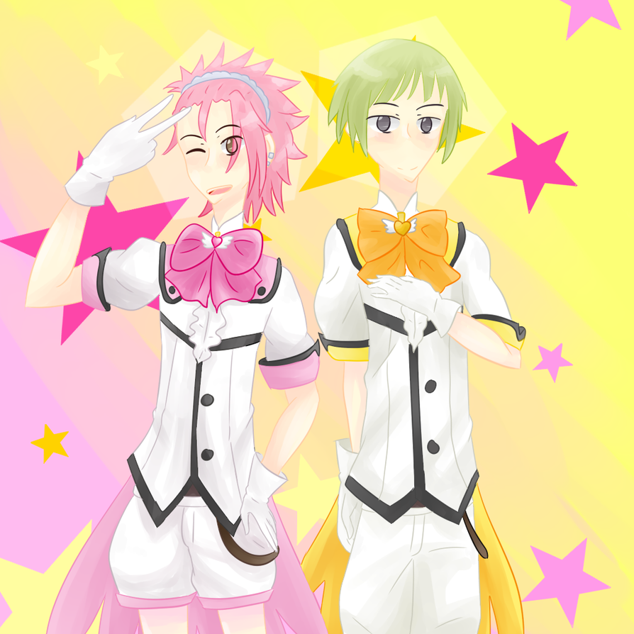 Ryuu And Io by Supah-Shugo