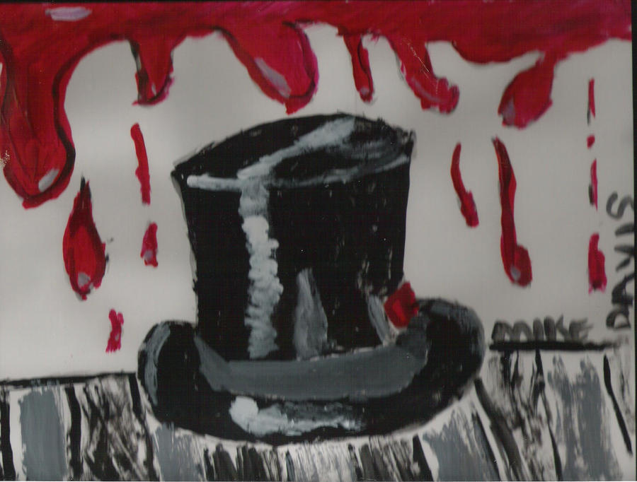 top hat macabre by mikescartoons
