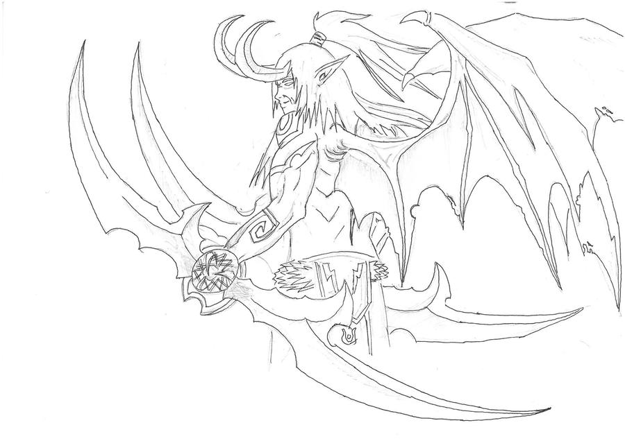 worldof warcraft coloring pages - photo#29