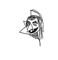 Count Von Count sketch by PippinRocks