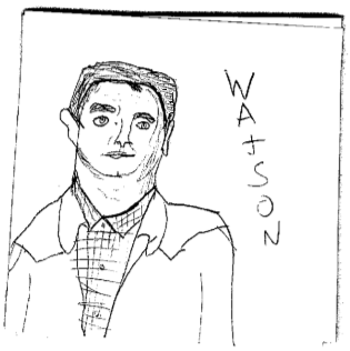 Watson sketch by PippinRocks