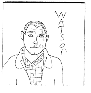 Watson Sketch, 2nd try by PippinRocks