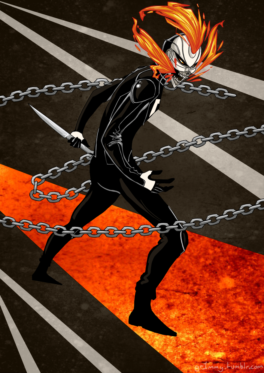 ghost rider robbie reyes by griimms on deviantart