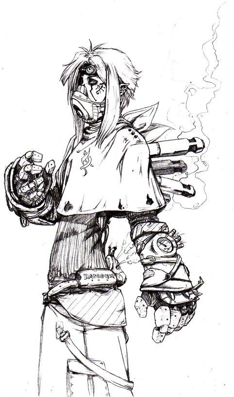 Steampunk boy by Marquis-di-Carabas on DeviantArt