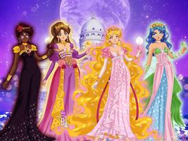 Lets reimagine the princesses of silver millennium