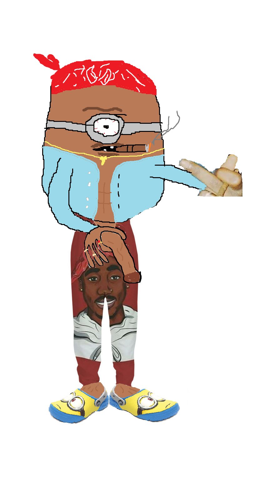 Tupac Minion sexy