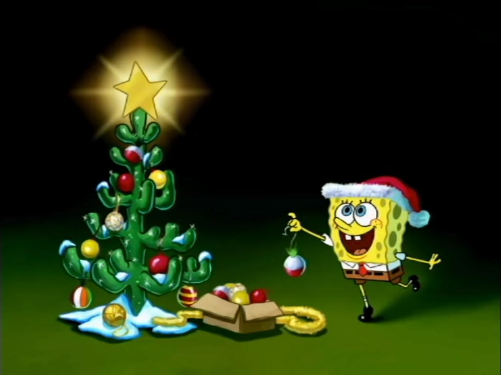spongebob christmas special blank card 2 by magicman5000