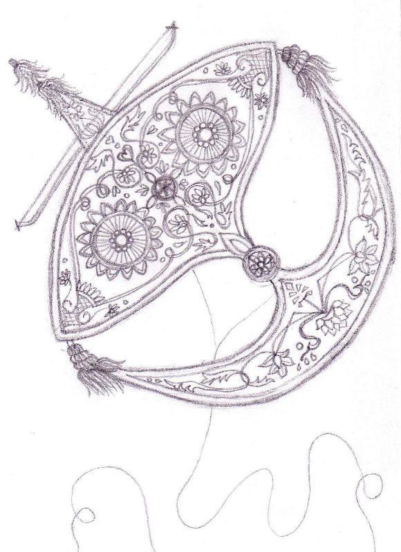 Wau Bulan Drawing Pictures