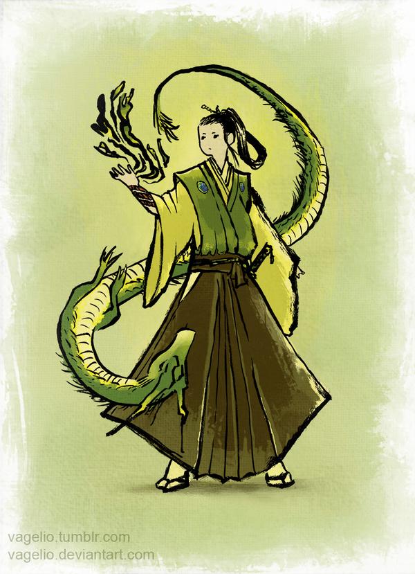 Dragon by Vagelio