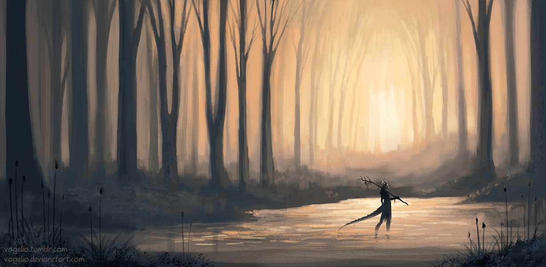 Forest Spirit by Vagelio