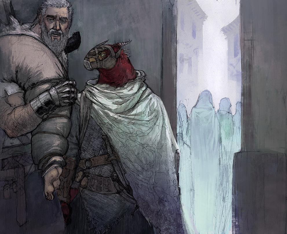 Alleway encounters by Vagelio
