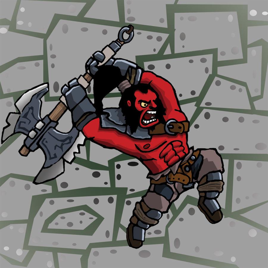 Incoming Culling Blade! by Vukasa