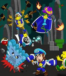 The Sky Captain's Underground Assault!
