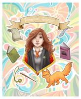 Hermione Mosaic by leelakin