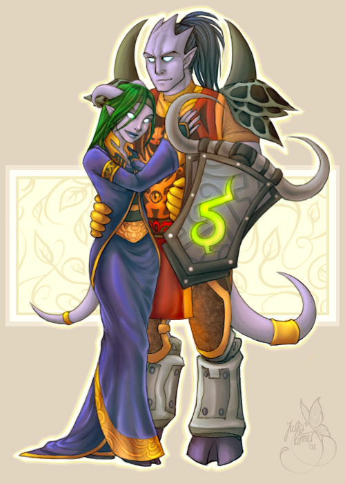 A World of Warcraft Wedding by leelakin