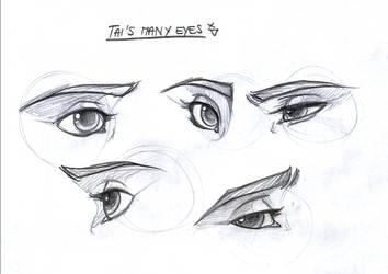 Tai's eyes by leelakin