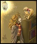 Christmas at Hogwarts: Library