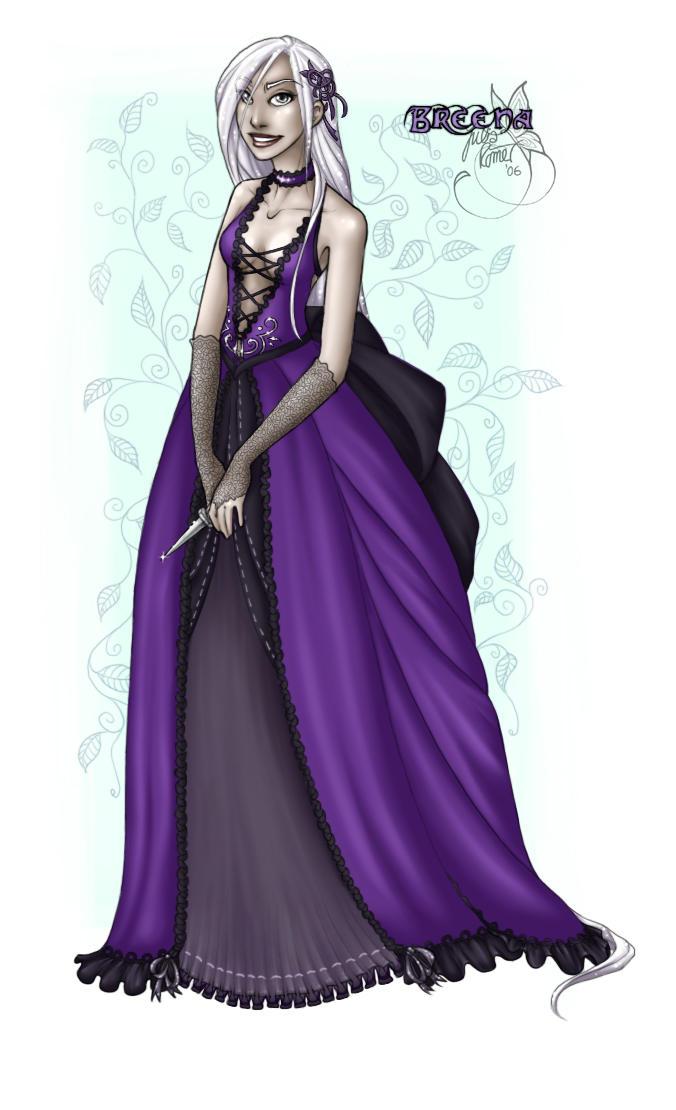 Lady Breena by leelakin