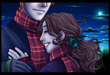 .:: Winter + Ron + Hermione :. by leelakin