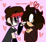 *hugs you* merry 8 months babe..