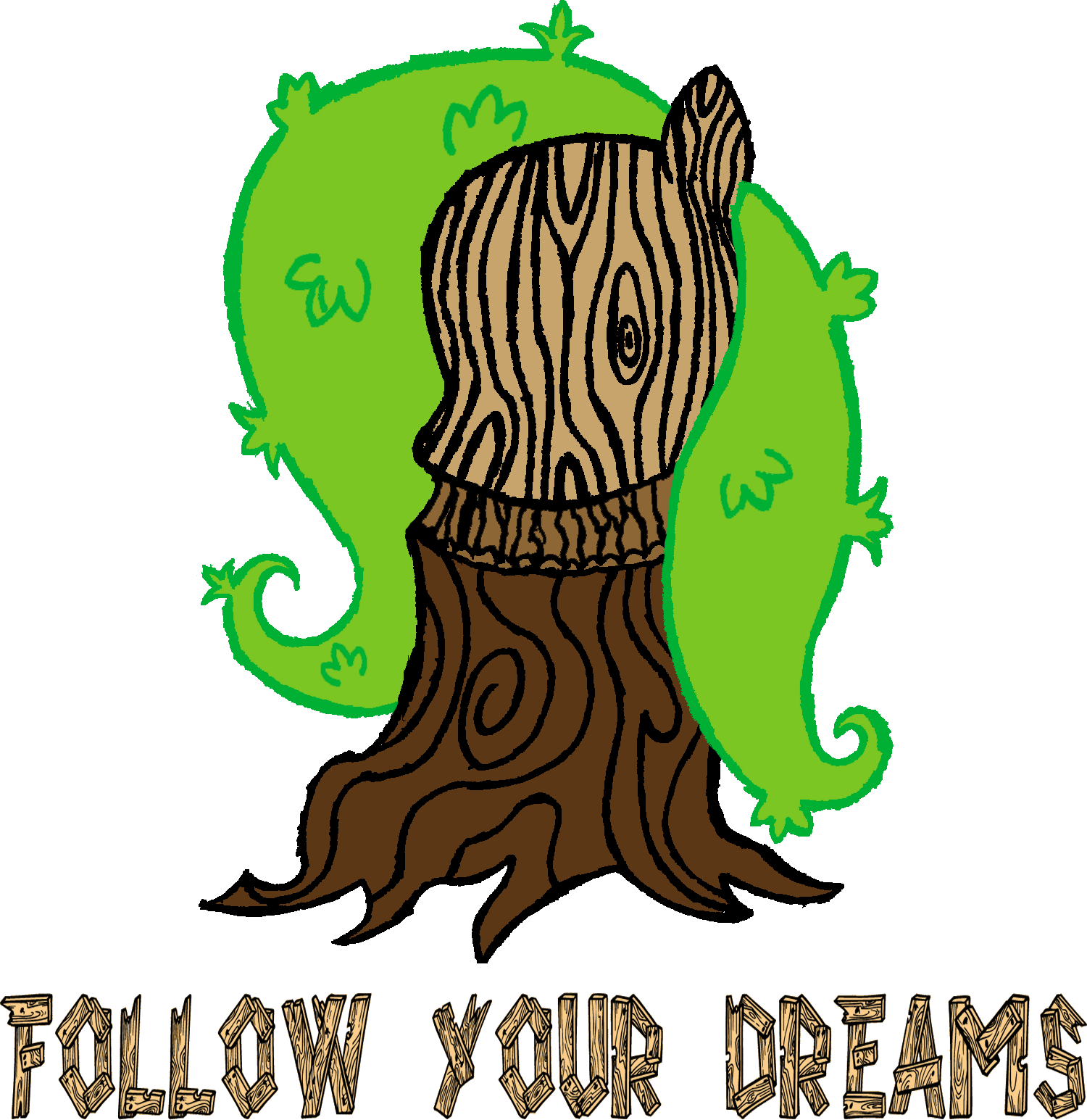 Fluttershy Tree T-shirt Design - FlutterTree by AncientOwl