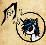 Vinyl Scratch - Okami-Inspired Design