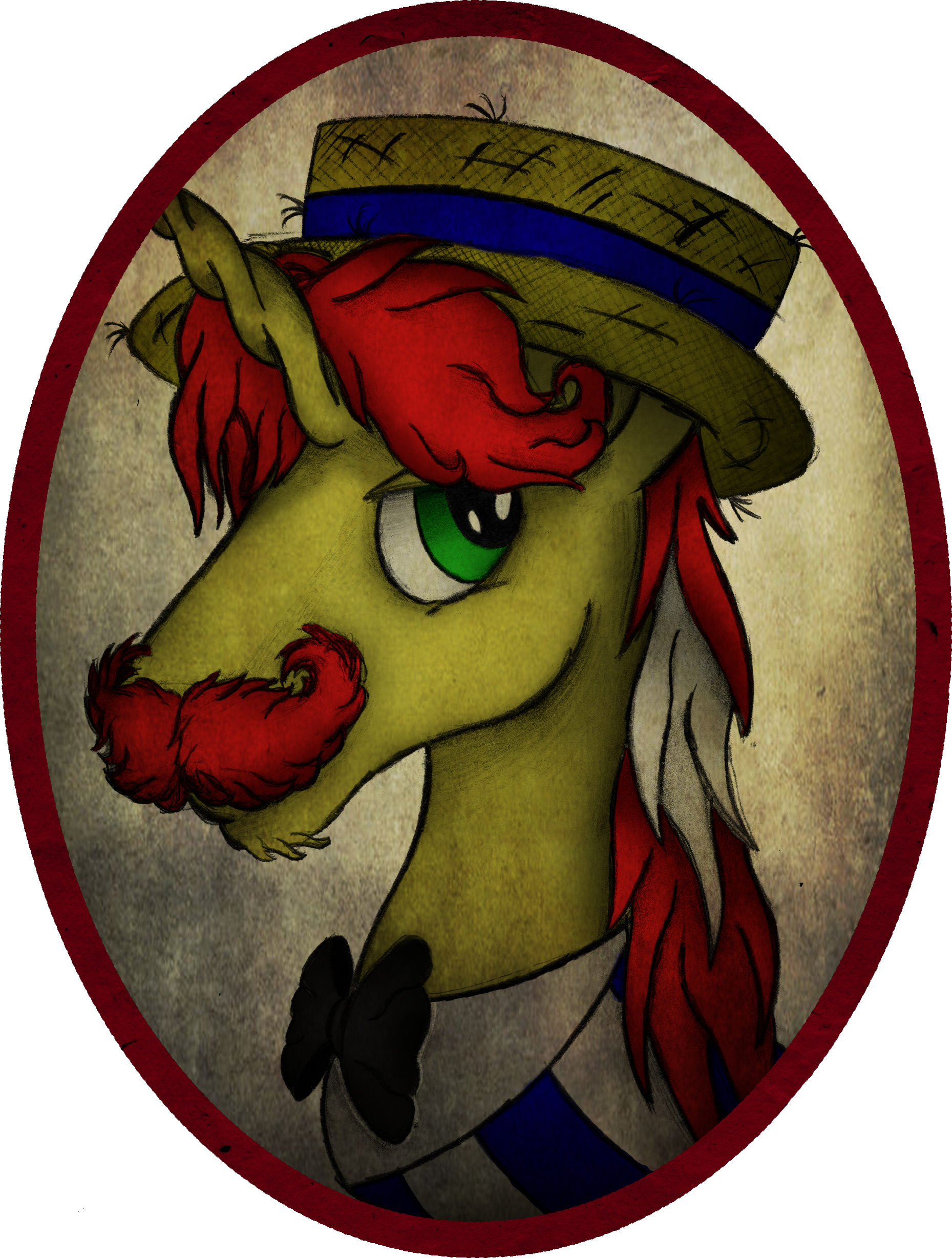 Flam Portrait - Revised by AncientOwl