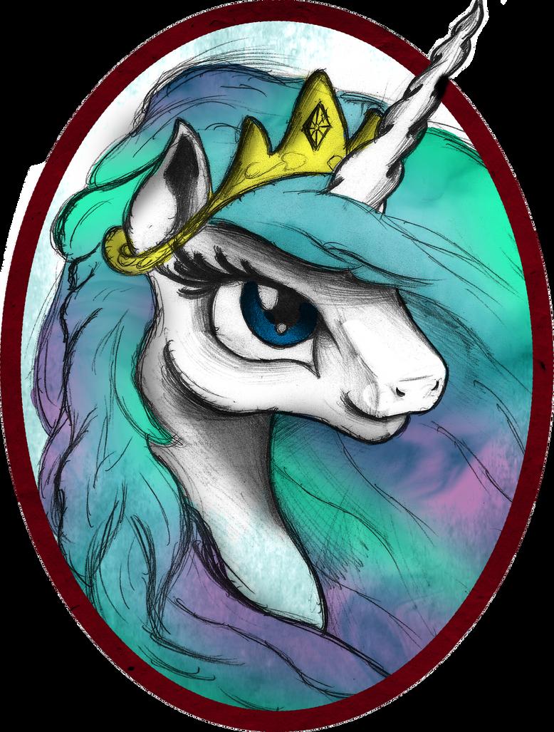 Celestia Portrait by AncientOwl