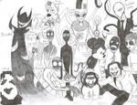 Creepypasta Family Portrait
