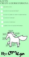 Create-A-Horse-Fursona by Omega-Adoptables