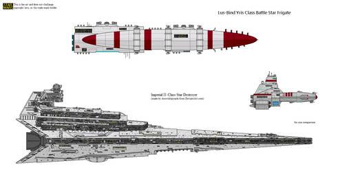 Lus-Bind Yris Class Battle Star Frigate