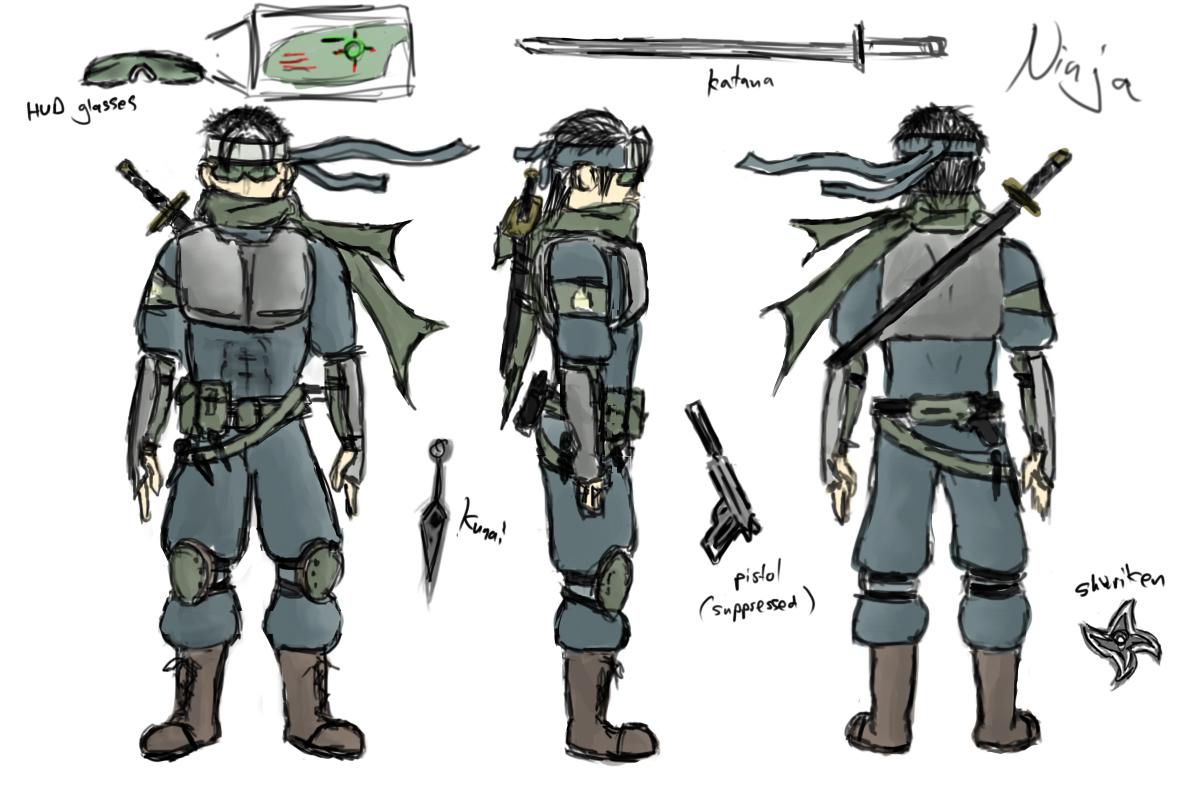 Image Gallery modern ninja
