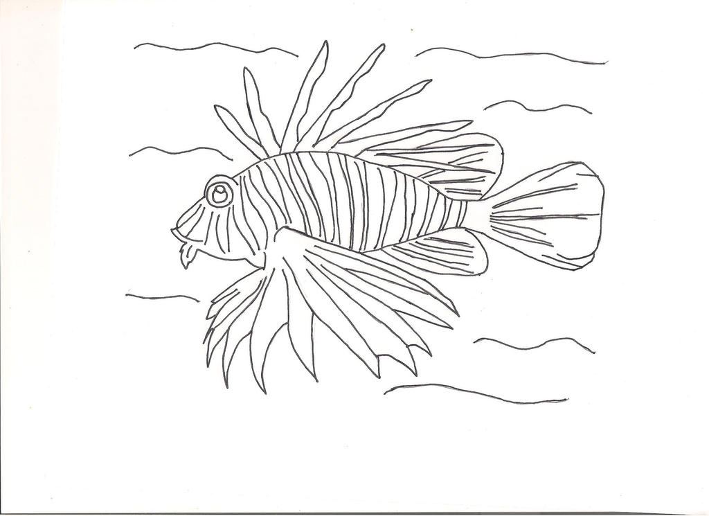 lionfish by countrygirllover