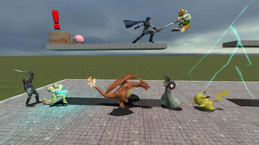 gmod - Super Smash Bros  Brawl by Stormbadger on DeviantArt