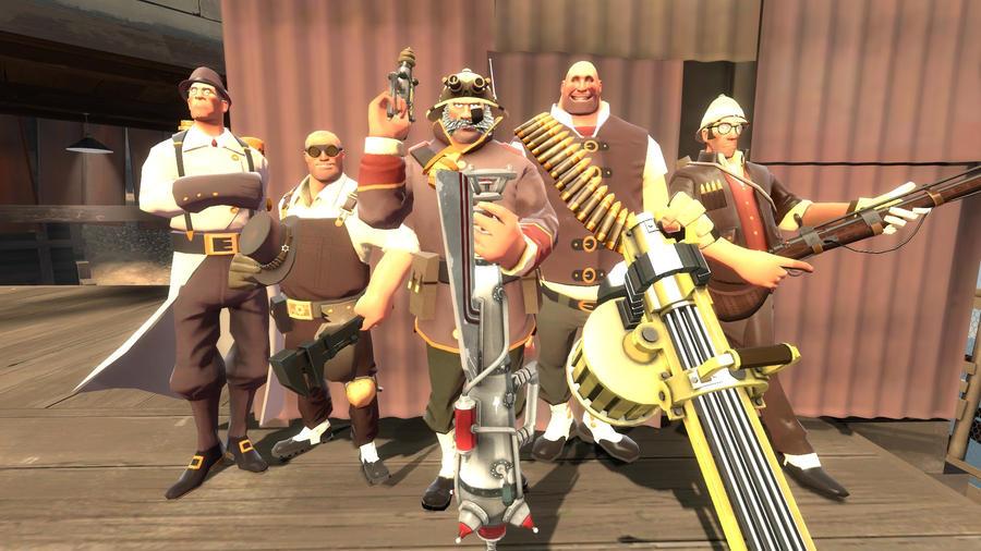 gmod - Steampunk Gentlemen by Stormbadger on DeviantArt