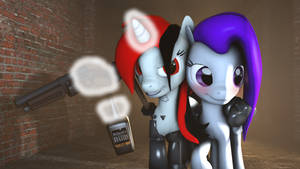 SFM - Blackjack and her favourite things by Stormbadger