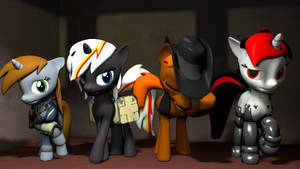 SFM - Scale force Fallout ponies