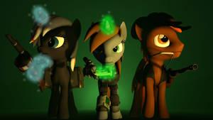 SFM - Equestrian Wastelanders
