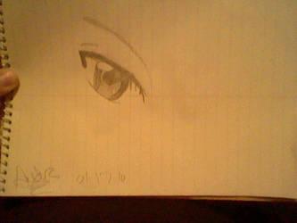 Ikuto's eye by insane-anime-girl