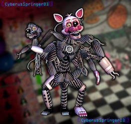 Funtime Mangle! by CyberusSpringer03